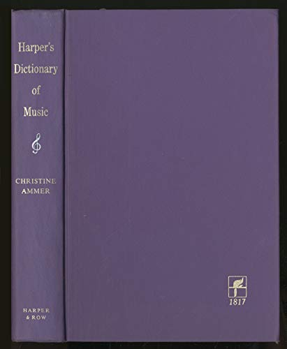 9780709130642: Harper's Dictionary of Music