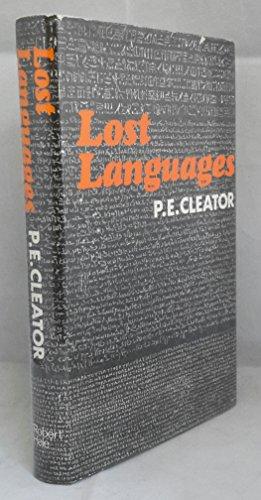 9780709136040: Lost Languages