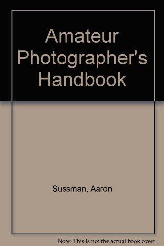 9780709146872: Amateur Photographer's Handbook