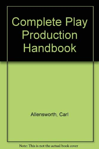 9780709151630: Complete Play Production Handbook