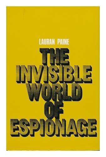 9780709156741: Invisible World of Espionage