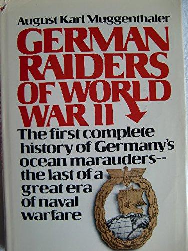 9780709166832: German Raiders of World War II