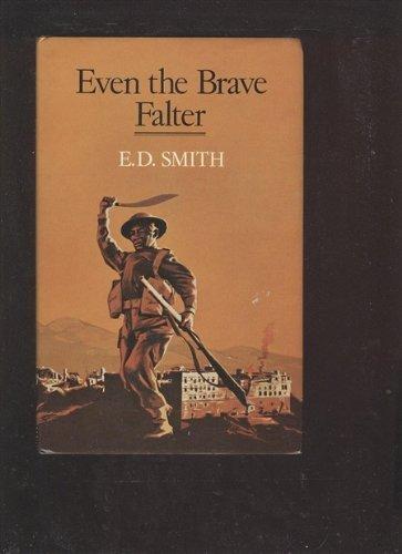 9780709168195: Even the Brave Falter