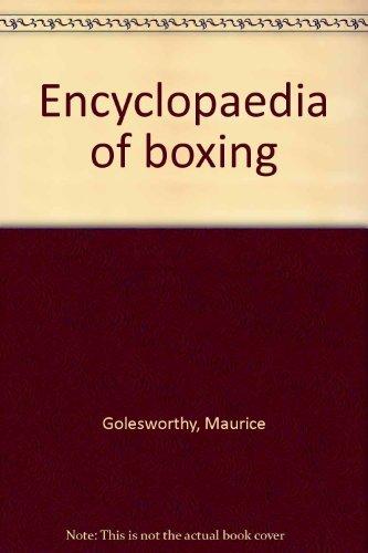 9780709177456: Encyclopaedia of boxing