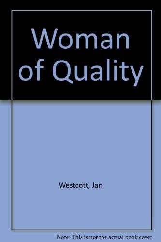 Woman of Quality (0709179839) by Jan Westcott