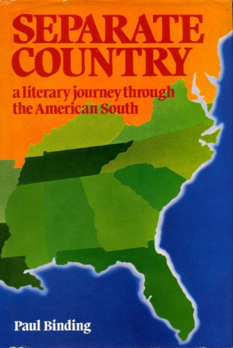 9780709200505: Separate Country: Literary Journey Through the American South