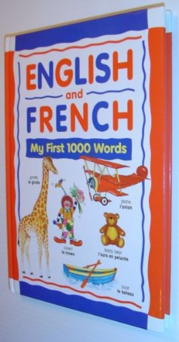 English and French My First 1000 Words