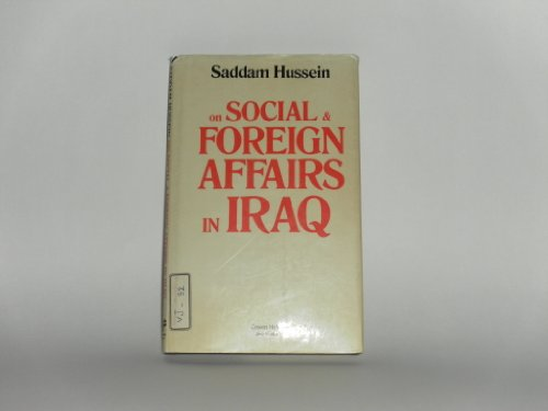 9780709900610: Social and Foreign Affairs in Iraq