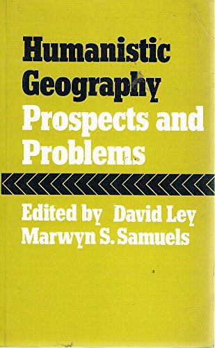 9780709901686: Humanistic Geography