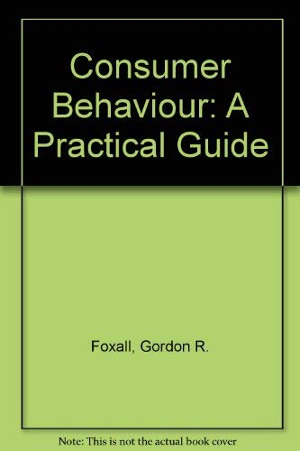9780709902997: Consumer Behaviour: A Practical Guide