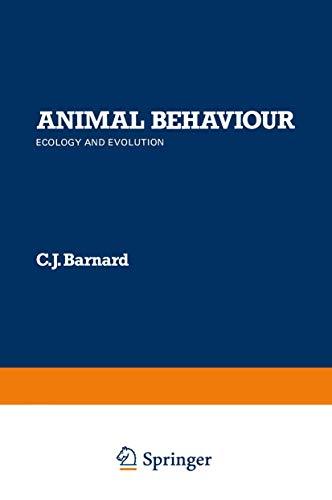 9780709906360: Animal Behaviour: Ecology and Evolution