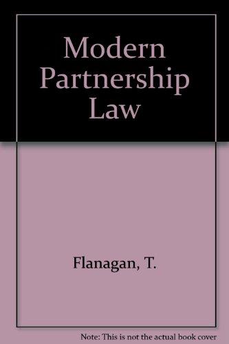 9780709910152: Modern Partnership Law