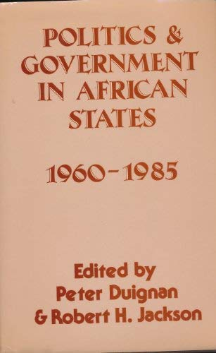 9780709914754: Politics and Government in African States