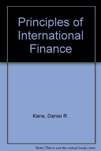 9780709915843: Principles of International Finance