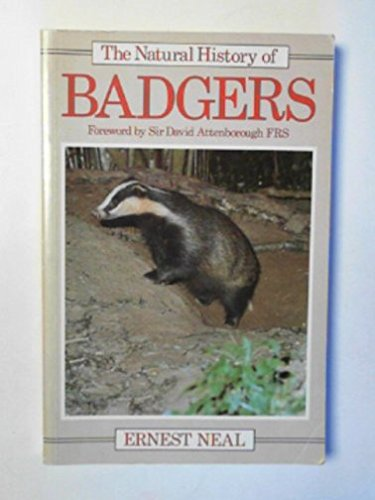 9780709918325: The Natural History of Badgers (Christopher Helm mammal series)