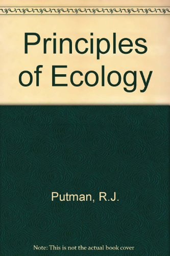 9780709920168: Principles of Ecology