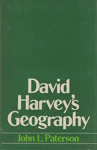9780709920298: David Harvey's Geography (Croom Helm series in geography and environment)