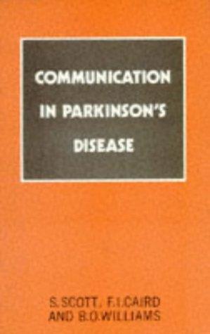 9780709923923: Communication in Parkinson's Disease