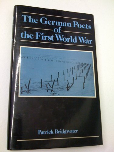 9780709932376: German Poets of the First World War