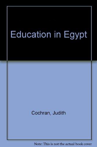 9780709934479: Education in Egypt