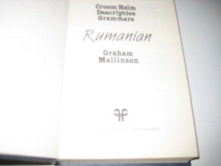 9780709935377: RUMANIAN (DESCRIPT GRAMMAR) CL (Croom Helm Descriptive Grammars)