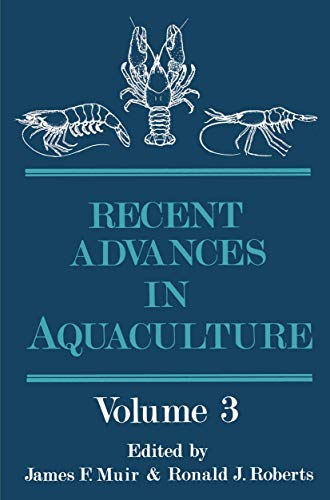 9780709935926: Recent Advances in Aquaculture: Volume 3: v. 3