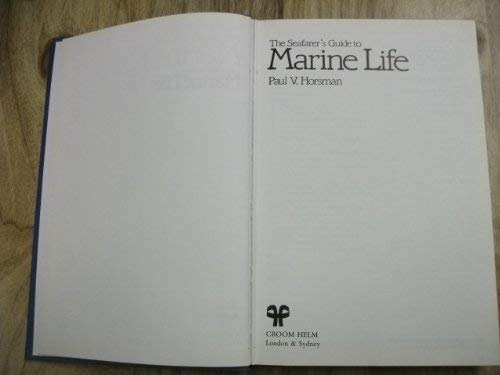 9780709937159: The Seafarer's Guide to Marine Life