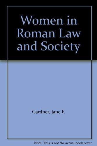 9780709938934: Women in Roman Law and Society