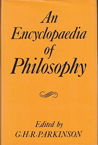 9780709940241: Encyclopedia of Philosophy