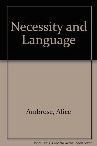 Necessity and language