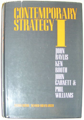 9780709950738: Contemporary Strategy: Theories and Concepts v. 1