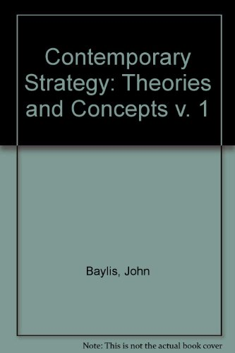 9780709950745: Contemporary Strategy: Theories and Concepts v. 1