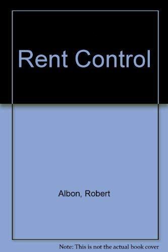 9780709954118: Rent Control