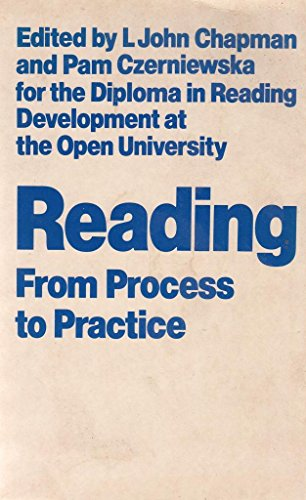9780710000644: Reading: From Process to Practice (Open University Set Book)