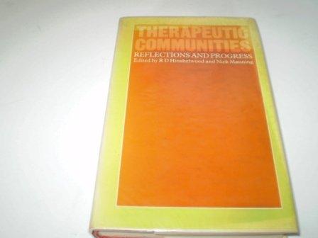 9780710001092: Therapeutic Communities