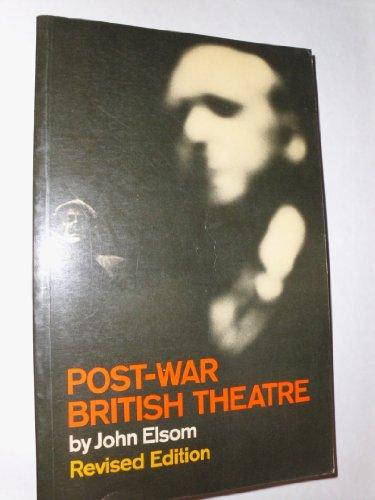 9780710001689: Post-War British Theatre