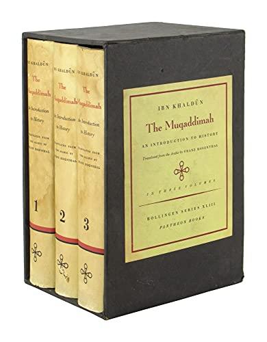 9780710001955: The Muqaddimah. An Introduction to History. Three Volume Set