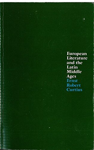 9780710002594: European Literature and the Latin Middle Ages