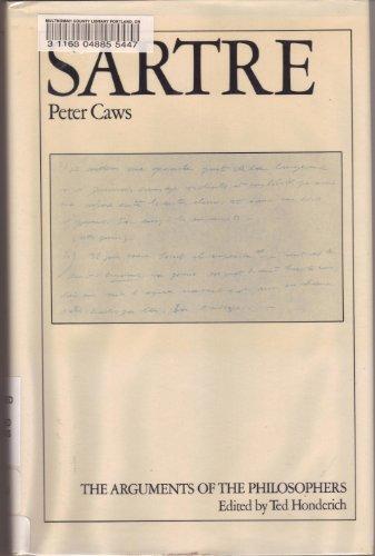 9780710003140: Sartre (Arguments of the Philosophers)