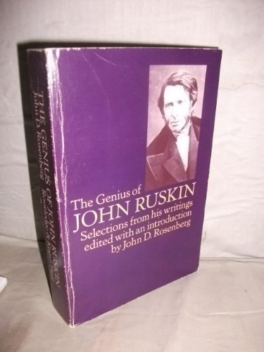 9780710003959: Genius of John Ruskin: Selections from His Writings
