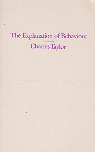 9780710004918: The Explanation of Behaviour