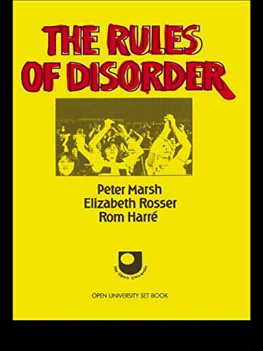 9780710005014: THE RULES OF DISORDER (SOCIAL WORLDS OF CHILDHOOD)