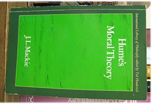 9780710005250: Hume's Moral Theory (International Library of Philosophy)