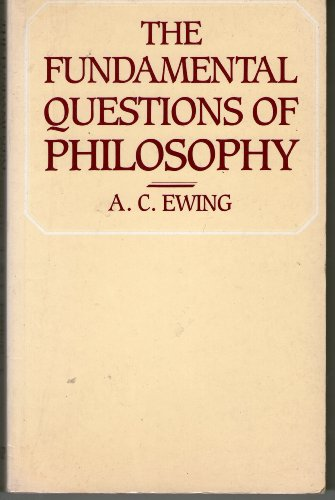 9780710005861: Fundamental Questions of Philosophy