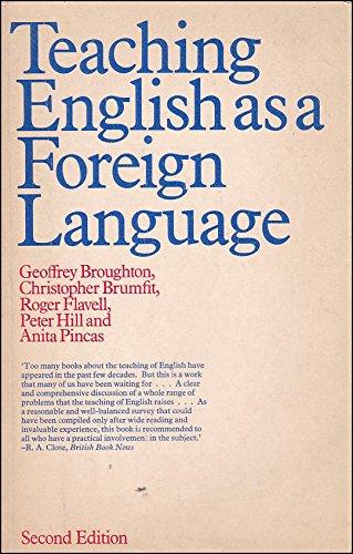 Teaching English as a Foreign Language: Peter Hill, Anita