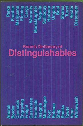 ROOM'S DICTIONARY OF DISTINGUISHABLES.