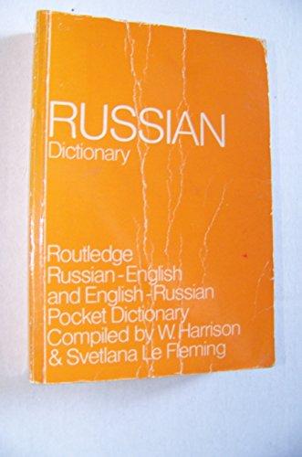 9780710008008: Russian-English, English-Russian Dictionary