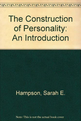 9780710008732: Construction of Personality: An Introduction