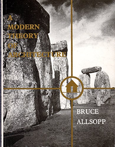 9780710009500: Modern Theory of Architecture