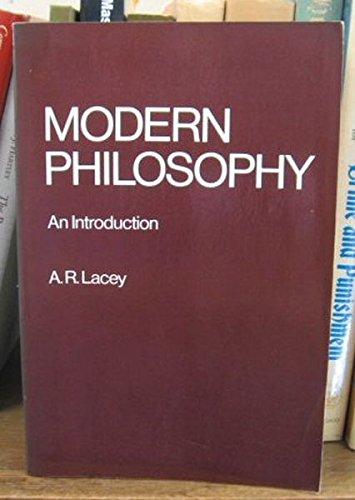 9780710009746: Modern Philosophy, an Introduction